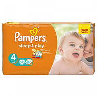Подгузники PAMPERS Sleep & Play Maxi 4 (7-14 кг) Макси Пак 50 шт