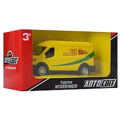 Машина инерционная Автосвіт AS-2247 10 см (Желтый)