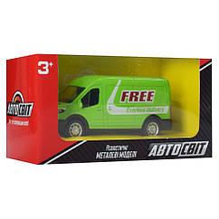 Машина инерционная Автосвіт AS-2247 10 см (Зеленый)