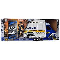 Игровой набор транспорта Bambi 95577-2 (Полиция)