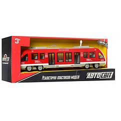 Игрушечный Поезд Автосвіт AS-2629 (Красный)