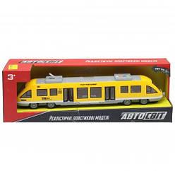 Игрушечный Поезд Автосвіт AS-2629 (Желтый)
