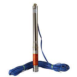 """Насос скважинный  с пов,уст, к песку 3""""  OPTIMA  3SDm1,8/15 0,37 кВт 61м + пульт+кабель 35м NEW"""