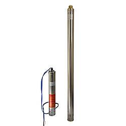 """Насос скважинный с пов,уст, к песку  3""""  OPTIMA  3SDm1,8/39 1,1 кВт 159м + пульт+кабель 1,5м NEW"""