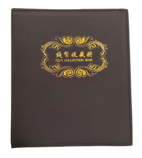 Альбом для монет и банкнот без листов с кольцевым механизмом PD210-3-23-27