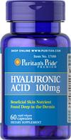 Гиалуроновая кислота 100 мг (60 капс.) Puritan's Pride