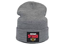 Шапка Hip Hop Shop Brawl Stars 55-59 см светло-серая (H-08118-440)