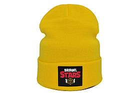 Шапка Hip Hop Shop Brawl Stars 55-59 см жёлтая (H-08118-441)