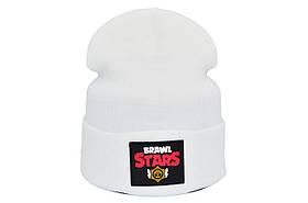 Шапка Hip Hop Shop Brawl Stars 55-59 см белая (H-08118-442)