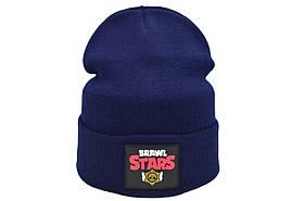 Шапка Hip Hop Shop Brawl Stars 55-59 см темно-синяя (H-08118-444)
