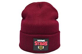 Шапка Hip Hop Shop Brawl Stars 55-59 см бордовая (H-08118-445)