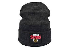Шапка Hip Hop Shop Brawl Stars 55-59 см темно-серая (H-08118-447)