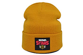 Шапка Hip Hop Shop Brawl Stars 55-59 см горчичная (H-08118-448)