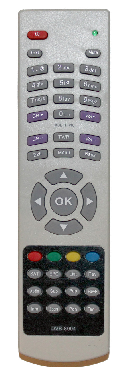 Пульт для тюнера EUROSKY DVB-8004