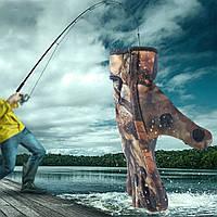 Неопреновые перчатки для рыбалки камуфляжные