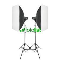 Набор студийного света Godox MiniMaster 150 KIT-40х60-2, 2х150 Дж