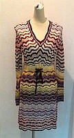 Платье трикотаж Missoni длинный рукав