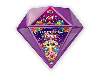 Креативный игровой детский набор бриллиант пони Diamond Pony Danko toys