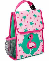 Детская термосумка Skip Hop Zoo Insulated Kids Lunch Bag - Flamingo (Фламінго), 3+