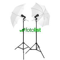Набор студийного света для фото на документы VS-32W KIT-2, 2х32 Дж