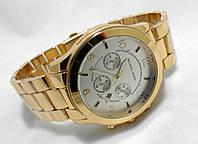 Мужские часы  Michael Kors - gold, белый циферблатом