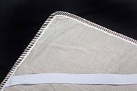 Наматрасник на резинках по углам, наполнитель лен, ткань лен, Линтекс