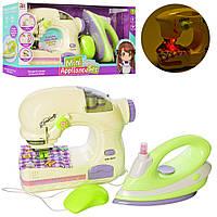 Дитячий ігровий набір побутової техніки праска і швейна машинка
