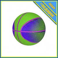 Мяч баскетбольный BB20149 резиновый (Зеленый),Соревновательные игры,Баскетбол Мячи,Баскетбольные мячи Мячи для