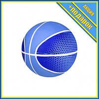 Мяч баскетбольный BB20149 резиновый (Синий),Соревновательные игры,Баскетбол Мячи,Баскетбольные мячи Мячи для