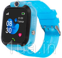Годинник Smart Watch AmiGo GO007 FLEXI GPS Blue UA UCRF Гарантія 12 місяців