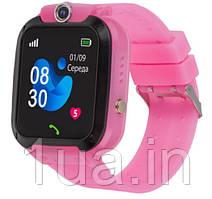 Годинник Smart Watch AmiGo GO007 FLEXI GPS Pink UA UCRF Гарантія 12 місяців