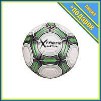 Мяч футбольный FB20152 диаметр 21,8 см (Зеленый),Профессиональный мяч для футбола,Футбольный мяч для