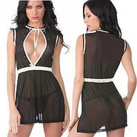 Прозрачное открытое платье эротическое