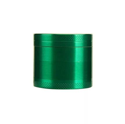 Измельчитель табака приправ металлический зелёный, фото 2