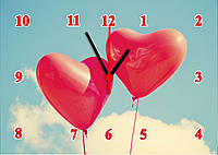 """Часы настенные стеклянные """"Заоблачной любви"""", фото 1"""