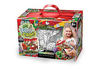 Игровой набор для девочек косметичка-раскраска My Color Case Danko toys