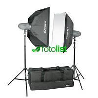 Набор студийного света Visico VL-300 Plus KIT, 2х300 Дж