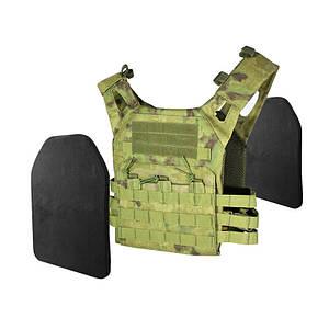 Жилет тактический AOKALI Outdoor A54 Camouflage армейский разгрузочный