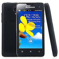 "Смартфон Lenovo A396 (2 SIM) 4"" 0,3/0,5 ГБ 0,3/2 Мп 3G black черный оригинал Гарантия!"