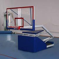 Баскетбольная стойка мобильная складная тренировочная вынос 160 см