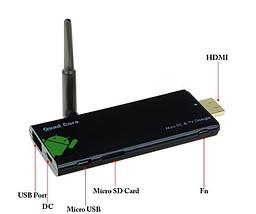 Android Smart TV Box CX-919  Quad  Core Rockchip RK3188 Quad Core  4 х 1.6 GHz 28nm  2GB RAM 8GB ROM, фото 3