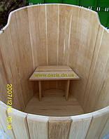 Купель овальная для бани и сауны 180х120х120см.