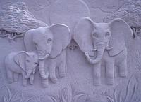 """Картина на камне """"Саванна"""", фото 1"""