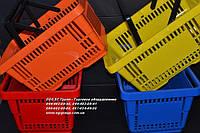 Корзинка покупателя. Пластиковые корзины. Корзины для покупателей. Корзины для магазина. VKF Renzel, фото 1