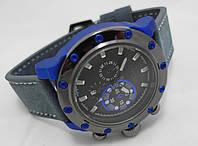 Мужские часы Invicta  - Lupah Revolution, цвет корпуса синий, черный циферблат