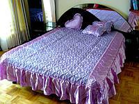 Покрывало Timonin Классика жаккард фиолет