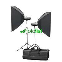 Набор студийного света Mircopro MQ-300S софтбоксы (MQ-300SKITSB)