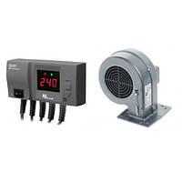 Комплект автоматики для котлов отопления KG Elektronik CS-20 + вентилятор DP02