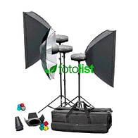 Набор студийного света Mircopro MQ-200 unique kit (MQ-200KITUN)