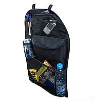 Сумка органайзер для автомобиля, органайзер для авто на спинку сиденья, авто сумка Черный (151-318)